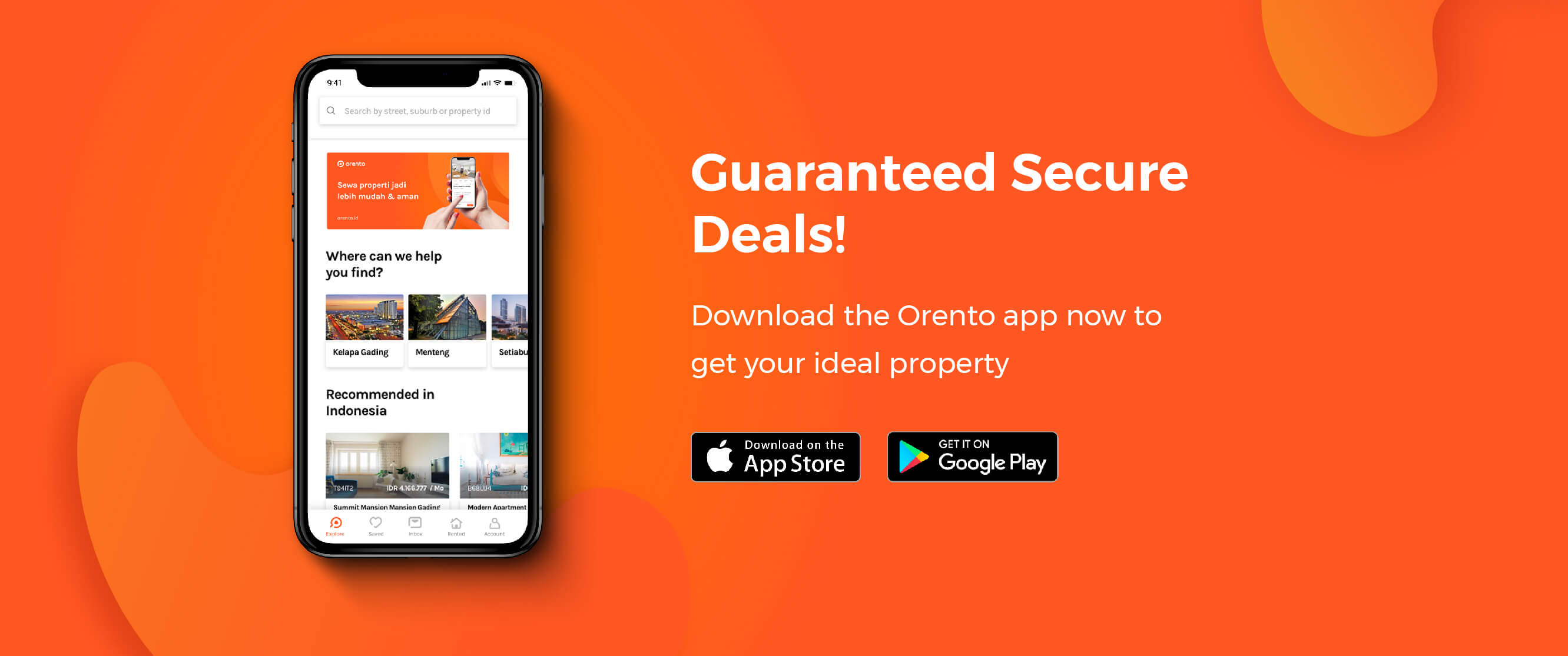 Guaranteed secure deals!